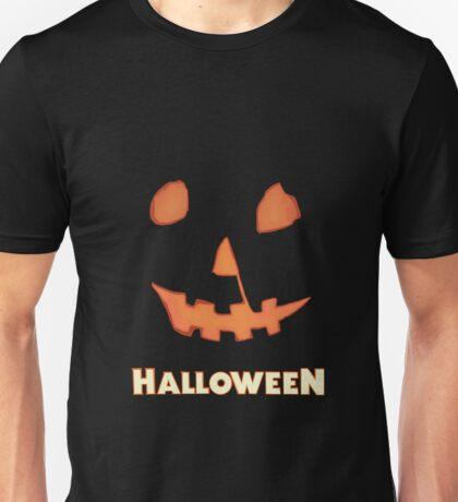 Halloween Jack-o'-Lantern Unisex T-Shirt
