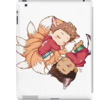 Sleepy Pups iPad Case/Skin