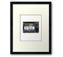 Nuka TV. Framed Print
