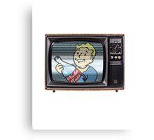 Nuka TV. Canvas Print