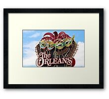 The Orleans Hotel & Casino Framed Print