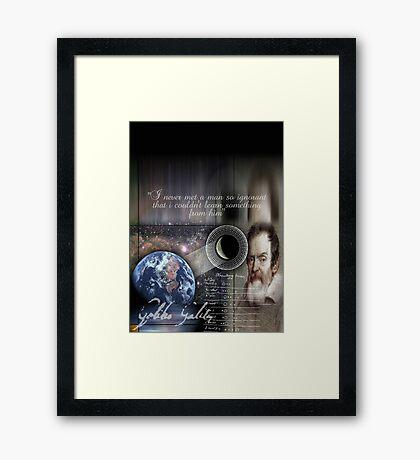 galileo  Framed Print