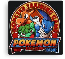 MONSTER TRAINING GAME- POKEMON Canvas Print