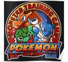 MONSTER TRAINING GAME- POKEMON Poster