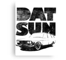 Datsun 510 Wagon Fatty Canvas Print