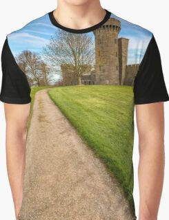 Castle Tower Graphic T-Shirt