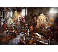Machinist - A room full of memories  Photographic Print