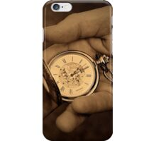 As time goes by... iPhone Case/Skin
