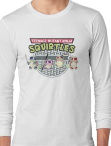 TEENAGE MUTANT NINJA SQUIRTLES T-SHIRT Long Sleeve T-Shirt