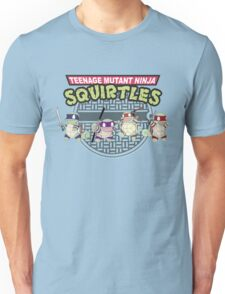 TEENAGE MUTANT NINJA SQUIRTLES T-SHIRT Unisex T-Shirt