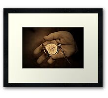 As time goes by... Framed Print