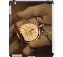 As time goes by... iPad Case/Skin