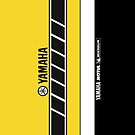 Team Yamaha Black and Yellow by Confundo