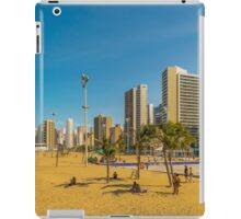 Beach and Buildings of Fortaleza Brazil iPad Case/Skin