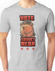 Russia says vote for Soviet Bear Unisex T-Shirt