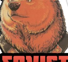 Russia says vote for Soviet Bear Sticker