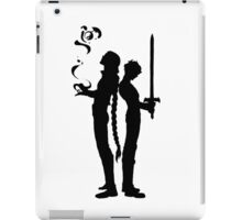 Magic and tragedy iPad Case/Skin