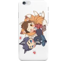 The Fox 'n the Wolf iPhone Case/Skin