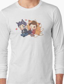 The Fox 'n the Wolf Long Sleeve T-Shirt