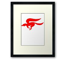 Fox Logo - StarFox Adventures Framed Print