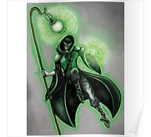 Medieval Green Lantern  Poster