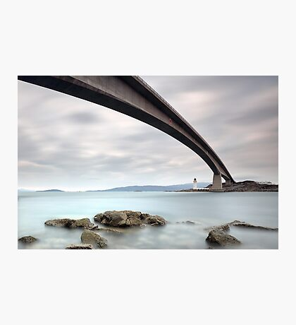 Road bridge rocks Photographic Print