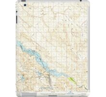 USGS TOPO Map Arizona AZ Parker Dam 314876 1959 62500 iPad Case/Skin