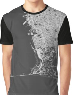 San Francisco in wireframe Graphic T-Shirt