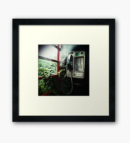 Hung Up Framed Print