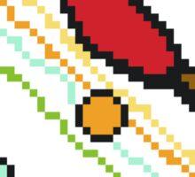 Ping Pong Galaxy Sticker