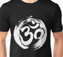 ohm symbol meditation yoga pose gym fitness shirt  Unisex T-Shirt