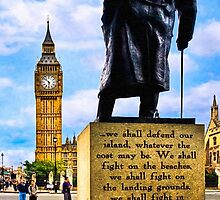 Never Surrender - Winston Churchill's Legacy by Mark Tisdale