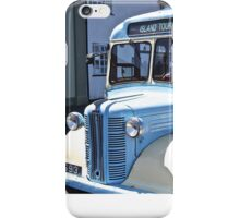 Island tour bus- Isles of Scilly iPhone Case/Skin