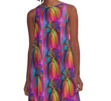 Raw Energy A-Line Dress