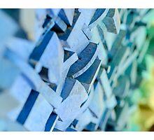 Blue Disco  Photographic Print