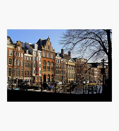Streetscape, Amsterdam Photographic Print