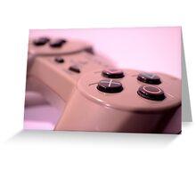 PS1 Game Pad Greeting Card