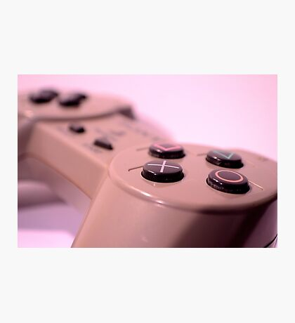 PS1 Game Pad Photographic Print
