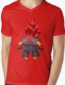 Puzzle Demon Mens V-Neck T-Shirt
