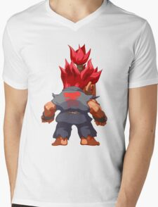 Puzzle Demon Mens V-Neck T-Shirt