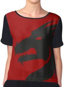T-shirt Dragon Chiffon Top