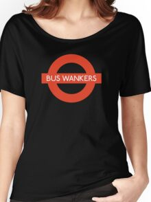 Bus Wankers! The Inbetweeners  Women's Relaxed Fit T-Shirt
