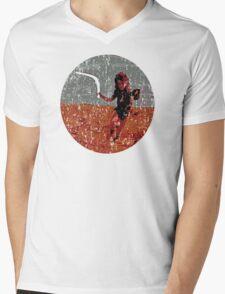 go for it, baby! Mens V-Neck T-Shirt