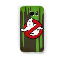 """I ain't afraid of no ghost"" Ghostbusters Stay Puft Mashmallow Man Green Slime Slimer Samsung Galaxy Case/Skin"