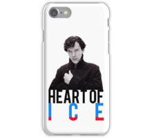 BBC Sherlock - Heart of Ice iPhone Case/Skin