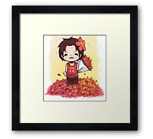 Chibi Ace Framed Print