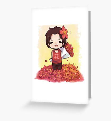 Chibi Ace Greeting Card