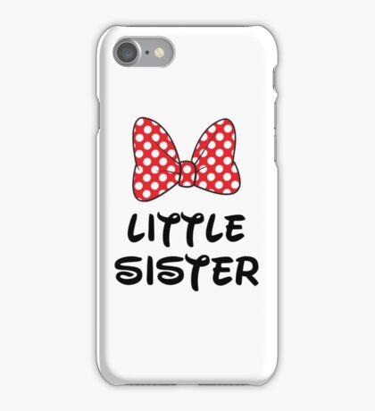Little Sister Cute Minnie iPhone Case/Skin