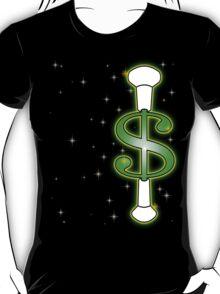 Baton Twirling Dollar Sign  T-Shirt
