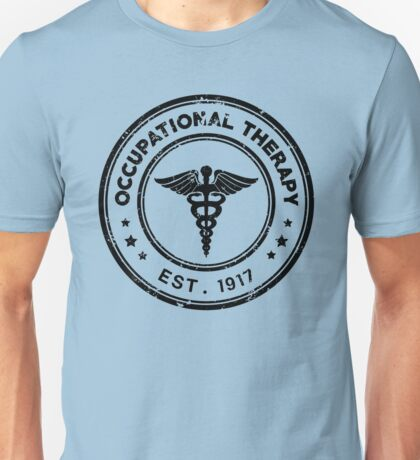 Occupational Therapy Vintage Stamp Unisex T-Shirt